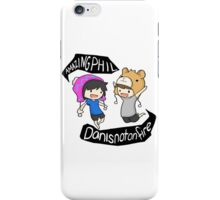 Amazingphil & Danisnotonfire cartoon iPhone Case/Skin