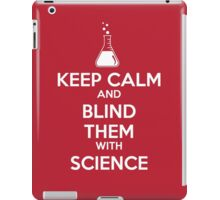 Blinded by Science iPad Case/Skin