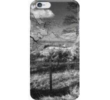Wintery Shire iPhone Case/Skin
