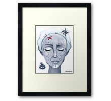 Global Warming Caused By Plastic Surgery Framed Print