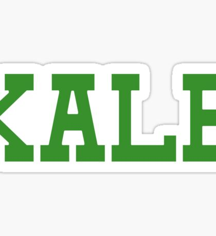 KALE University Style Logo Sticker