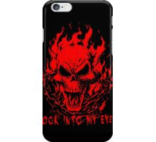 Ghost Rider Red iPhone Case/Skin