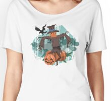 Scary Scarecrow Women's Relaxed Fit T-Shirt