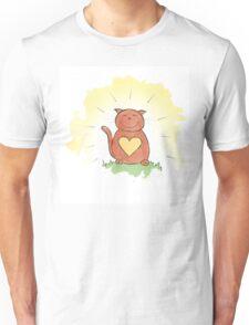 Deep Inner Smile - Bodhicatva Unisex T-Shirt