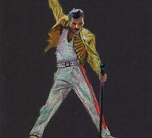 Freddie Mercury by xDontStopMeNow