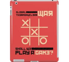 War Games iPad Case/Skin