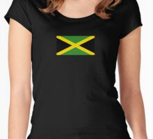 Jamaican Flag - Jamaica T-Shirt Women's Fitted Scoop T-Shirt