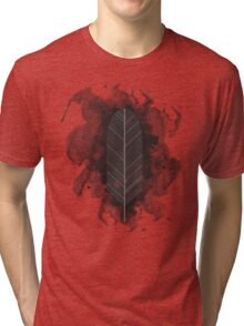 Tribal Feather Tri-blend T-Shirt