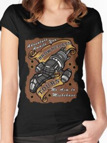 Browncoat Tours  Women's Fitted Scoop T-Shirt