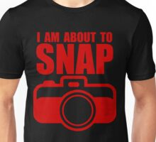 About to SNAP - RED Unisex T-Shirt