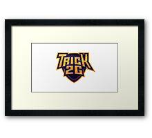 Trick2g Logo Framed Print