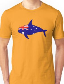 Australian Flag - Killer Whale / Grampus / Orca Unisex T-Shirt
