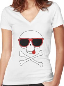 Coolavera Women's Fitted V-Neck T-Shirt