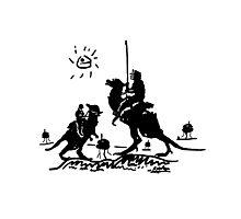 Han Quixote Photographic Print