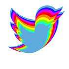 Rainbow Twitter by Indiana406