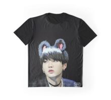 "BTS ""KITTY YOONGI"" Fanart Graphic T-Shirt"