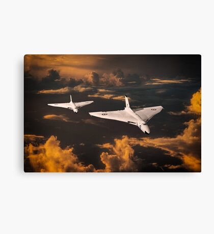The Great White Bombers Canvas Print