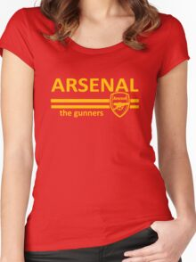 Arsenal Women's Fitted Scoop T-Shirt