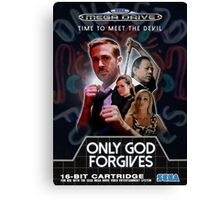 Only God Forgives - Sega Mega Drive Canvas Print