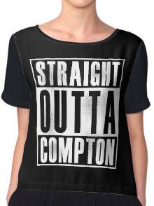 Straight Outta Compton Chiffon Top
