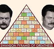The Ron Swanson Pyramid of Greatness by awesomebc