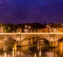 Ponte Vittorio Emanuele II, Rome Sticker