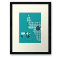 Birmingham England - The Bull Ring Framed Print