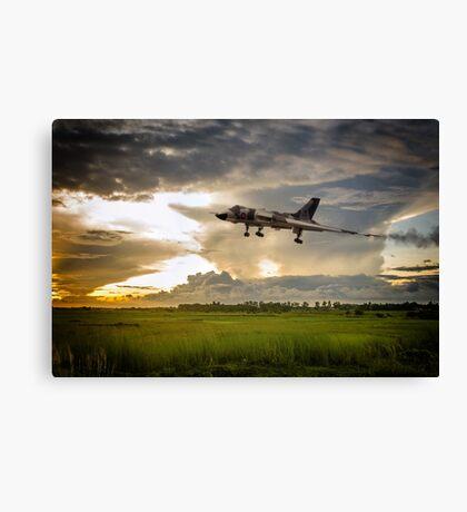 Vulcan XM606 Canvas Print