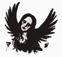 Gothic Angel (purple) One Piece - Long Sleeve