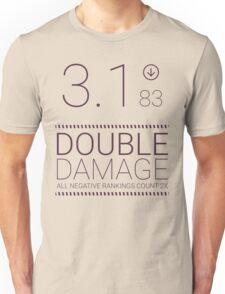 Black Mirror - Nosedive Double Damage Unisex T-Shirt
