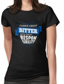 BITTER-The-Awesome Womens Fitted T-Shirt