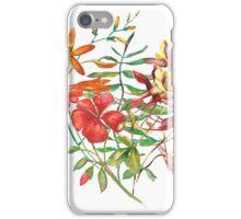 Watercolor bouquet flower.  iPhone Case/Skin