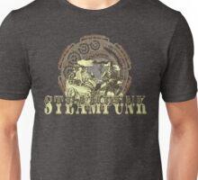 Grunge Steampunk Vintage Robot  Unisex T-Shirt