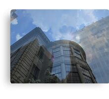 Layered Buildings Canvas Print