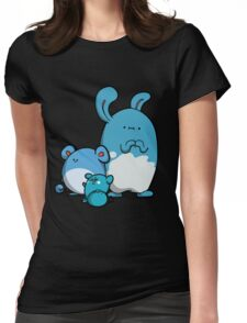 Water Mice Womens Fitted T-Shirt