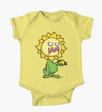 Grumpy Sunflower One Piece - Short Sleeve