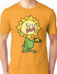 Grumpy Sunflower Unisex T-Shirt