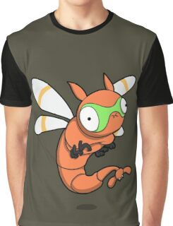 Derpy Dragonfly Graphic T-Shirt
