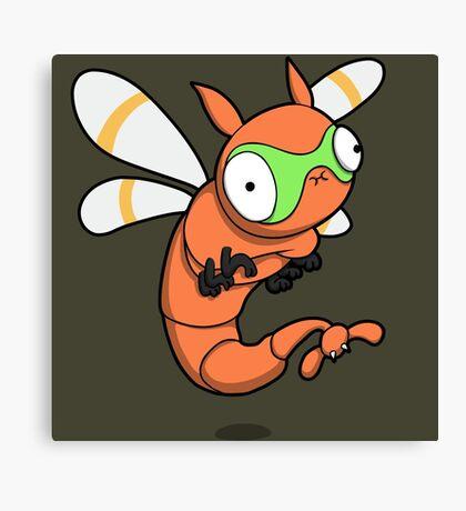 Derpy Dragonfly Canvas Print