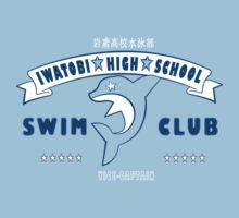 Free! Iwatobi Swim Club Shirt (Haruka, Vice-Captain) light blue T-Shirt