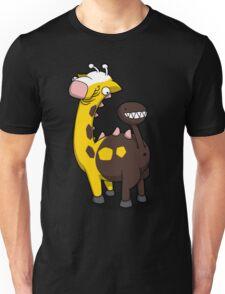 Giraffe Butt Unisex T-Shirt