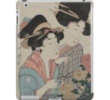 September - Utamaro Kitagawa - 1890 iPad Case/Skin