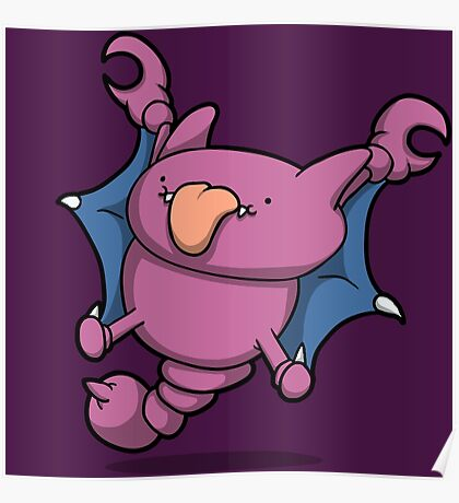 Scorpion Bat Thing Poster