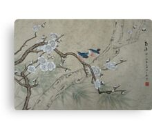 Plum Blossom in Spring Canvas Print