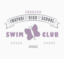 Free! Iwatobi Swim Club Shirt (Rei, Member) white by renotology