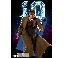 Tenth Doctor - Greeting Card Photographic Print