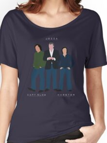 Capt Slow Jezza & Hamster Women's Relaxed Fit T-Shirt