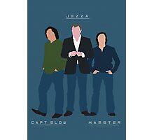 Capt Slow Jezza & Hamster Photographic Print