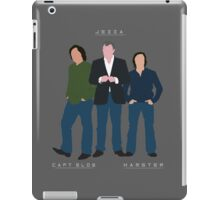 Capt Slow Jezza & Hamster iPad Case/Skin