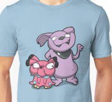 Cutey Bulldogs Unisex T-Shirt